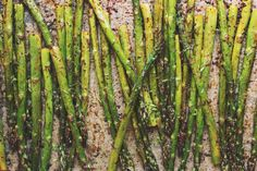 Chili + Lime Roasted Asparagus   With Food + Love