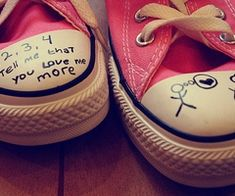 Image discovered by Micaela. Find images and videos about love, cute and pink on We Heart It - the app to get lost in what you love. Pink Converse, Converse All Star, Converse Shoes, Love Me More, My Love, Converse Photography, Wonder Boys, Fb Covers, For Facebook