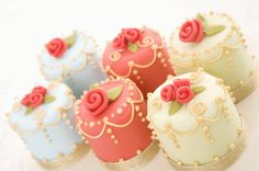 Pretty little cakes.