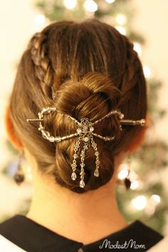 Easy Hair up do for date night!