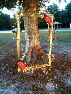 Picture Frame Photo booth #Christmas in #OrangeBeach