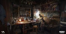 Andrzej Dybowski is a freelance artist who has recently worked on stuff like League of Legends, The Witcher 3 and Metro Exodus. Witcher 3 Art, The Witcher, Matte Painting, Steampunk Store, Video Game Artist, Metro 2033, Steampunk Accessories, Environment Concept Art, Art Store