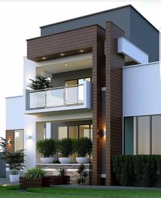 Pictures Of Modern House Designs. 20 Pictures Of Modern House Designs. 49 Most Popular Modern Dream House Exterior Design Ideas 3 Minimalist House Design, Modern Small House Design, Simple House Design, Modern Design, Small Modern Houses, Tiny Houses, Minimalist Interior, House Front Design, House Design Plans