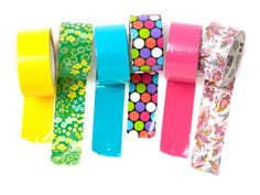 Duct Tape Uses - Color Duct Tape -