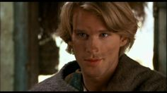 No one can smolder like Westley (Cary Elwes) handing Buttercup an earthenware pot.  Possibly even better than Westley saving Buttercup's life (whilst quipping) in the Fire Swamp.