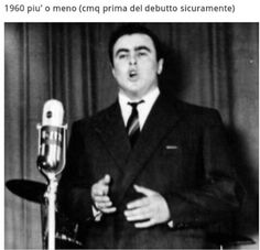 Circa 1960...before his debut