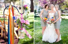 Bright and beautiful southern wedding arrangments