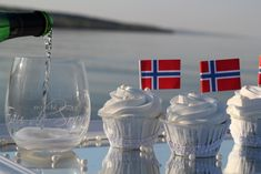 may, Norway`s national day Norway National Day, Constitution Day, Public Holidays, Cup Cakes, Tasty, Passion, Table Decorations, Baking, Blog