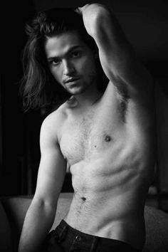Thomas McDonell Yumm, i love guys with long hair!