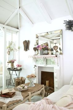 Romantic Country Style On Pinterest Country Style White Homes And