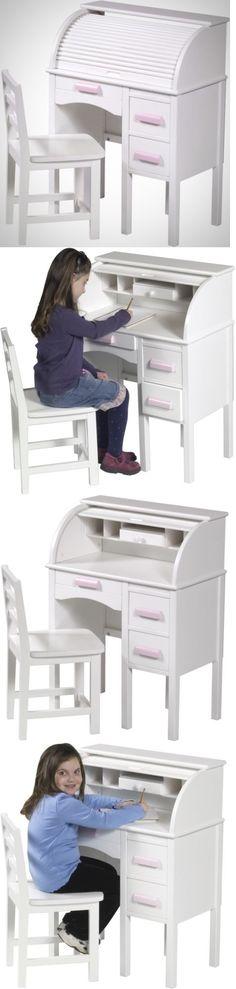 Desks 115750: Child Desk And Chair Set Kids Home Workstation Homework Furniture New White -> BUY IT NOW ONLY: $261.99 on eBay!