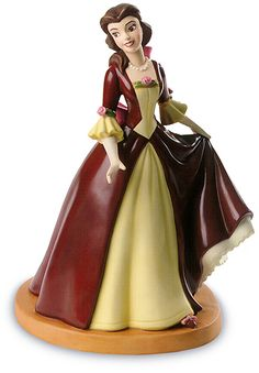 """Holiday Princess Series-Holiday Belle (2003 Open Edition) WDCC """"The Gift of Love"""""""