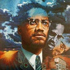 When I see Malcolm X I see a man that fought and marched for his human race. Malcolm X, X Picture, By Any Means Necessary, Black Artwork, Black Image, Black Artists, My Black Is Beautiful, Interesting History, African American History