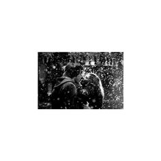 Snow kiss image by Missy-miss13 on Photobucket ❤ liked on Polyvore featuring christmas and couple
