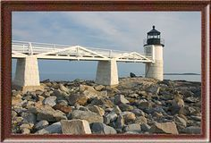 Marshall Point Light  Port Clyde, Maine - this is the Forest Gump lighthouse~~~~~~Been there!!