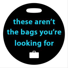 Luggage Tag  Star Wars Inspired  4 Inch Round Plastic by ebonypaws, $14.00