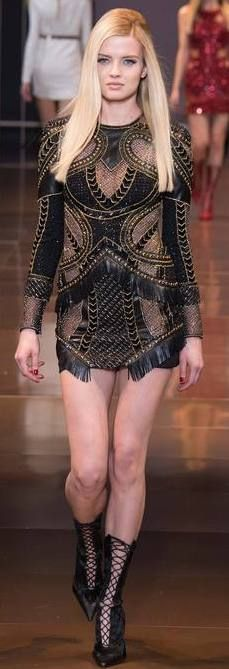 FALL 2014 READY-TO-WEAR Versace | Runway | BLAIR SPARKLES |