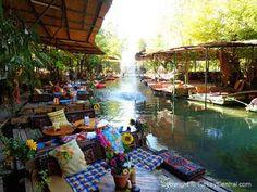 Natural Paradise Restaurant, near Saklikent Gorge, Turkey