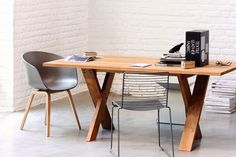 What's Hot: A multi-purpose table Teak dining table designed by Patrik Pettersson for Ethnicraft Shop it online 20% off! http://www.internistore.com/ta…/trapezaria-petterson.product