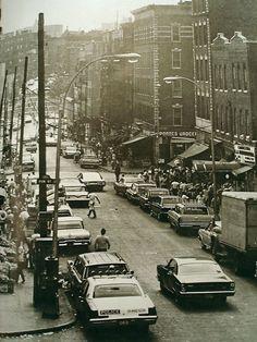 Fox Street in the 1960s