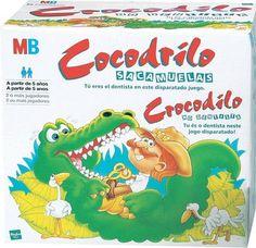 Hasbro Cocodrilo sacamuelas... hay que ser rápido para evitar que te muerda!