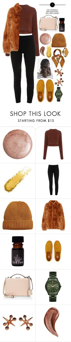"""Feel Good"" by annasokolove ❤ liked on Polyvore featuring TIBI, Elie Tahari, Marni, Mark Cross, MICHAEL Michael Kors, Gucci and Hermès"
