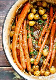 This Chuck Roast recipe takes just minutes to prep and has the winning flavor combination of Balsamic and Dijon to make it extra special. Chuck Roast with Balsamic and Dijon Crock Pot Recipes, Dutch Oven Recipes, Slow Cooker Recipes, Beef Recipes, Cooking Recipes, Healthy Recipes, Delicious Recipes, Dutch Oven Cooking, Dutch Oven Meals