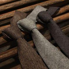 Las #corbatas de #lana ganan terreno en el mundo de la moda