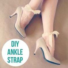 DIY – Add a Bow Ankle Strap to your Shoes