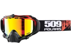 Polaris 2866113 Sinister X5 Goggle- Cracked/Fire Mirror Snowmobile Parts, Motor Parts, Accessories Store, Oem, Fire, Mirror, Ebay, Mirrors, Vanity