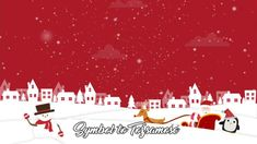 Buy Christmas Background 2 by OnBothSides on VideoHive. The Christmas Background 2 is a cute animation featuring Santa Claus and his sleigh, a friendly snowman and a tiny an.
