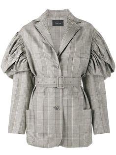 SIMONE ROCHA prince of wales checked jacket. #simonerocha #cloth #재킷