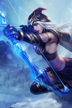 i owe it to ashe, she was my first champ. :D