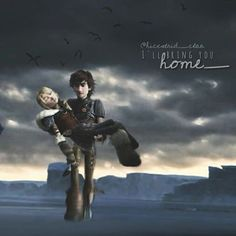 """-""""I'll bring you home."""" Hello guys! I hope you're all fine. Gosh I' ve listened to John Powell's music all day. I just love the HTTYD Soundtrack! It's so awesome The story behind this edit: Hiccup and Astrid were fighting an enemy. Astrid got hurt and now Hiccup carries her home. Don't ask me why they aren't with Stormfly and Toothless. Maybe they have been seperated during the battle. I have the feeling that my english is really bad right now Anyway I hope you like this edit."""