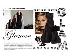 """GLAM"" by bushrakamran ❤ liked on Polyvore featuring Mercedes-Benz, Charlotte Tilbury, Oscar de la Renta, STELLA McCARTNEY, gown, glam and occasion"