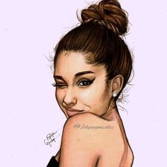 I really don't know why I never posted this drawing in a HQ like I always do it looks soooo good I love you @arianagrande and I hope you like it p.s. this looks so realistic to me oh yeah., I almost forgot I did a video of how I drew this about some months ago so if you wanna see it go to my youtube channel (LINK IN MY BIO)