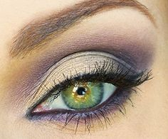 Makeup ideas for Green eyes - Green eye makeup