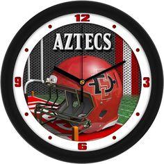 Mens San Diego State Aztecs - Football Helmet Wall Clock