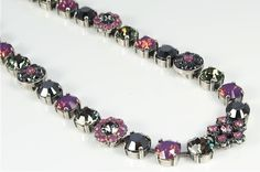 Mariana Jewelry hand made in Israel with swarovski crystals and gemstones. Available at BluRoxx.com #Mariana Jewelry #Swarovski Crystal #Gemstone #BluRoxx #Necklace