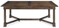 "322-224  W 84 - 132 | D 46-1/2 | H 30 in. W 213.36 - 335.28 | D 118.11 | H 76.2 cm.  Flat cut mahogany veneers Two 24"" end leaves Trestle st..."