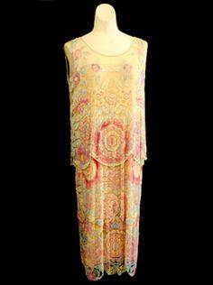 Evening dress, 1924                                                       …