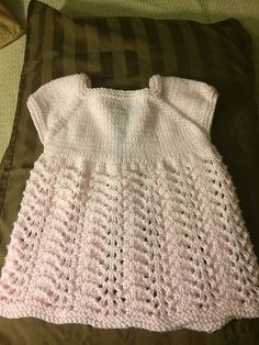 Ravelry: Meadow Sweet Baby Dress pattern by marianna mel Free Knitting, Baby Knitting, Little Babies, Cute Babies, Herbs For Anxiety, Dress Skirt, Crochet Top, Ravelry, Sweet