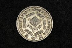 South Africa 6 Pence 1950; GEORGIVS SEXTVS REX; old silver coin by dukatshopping on Etsy Old Coins Value, Old Silver Coins, George Edwards, Coin Values, 90th Birthday, African History, South Africa, Magazines, Old Things