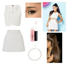 """Ariana #6"" by rusher-11 ❤ liked on Polyvore featuring Lipsy and MAC Cosmetics"