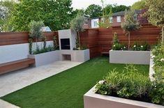 Gewenste houtkleur | modern garden design designer west end central london #GardeningDesign