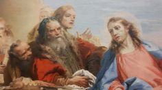 Giandomenico Tiepolo cena in casa del fariseo Wurzburg