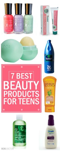 Does your teen love to play with makeup? If yes, here are some beauty products for teens that will help to accentuate the wonderful features of your beautiful teenage daughter without looking over the top.