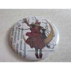 Miroir de sac, miroir de poche, accessoire, sac à main, beauté, mode,Halloween 19   http://romantic-garden.fr/
