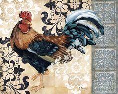 Renaissance Rooster II (Paul Brent)