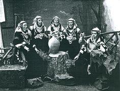 Српкиње из солунског вилајета,19.век (данашња Грчка) - Serbian women from Salonika district (modern Greece), 19th Century.